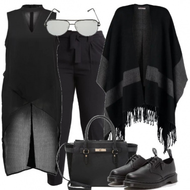 Outfit Curvy in nero