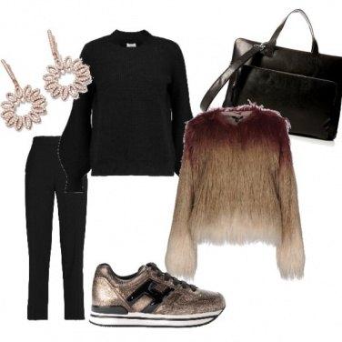 Outfit La sneacker elegante