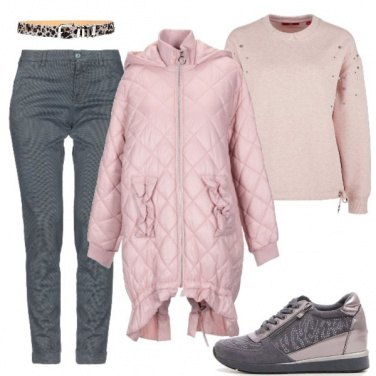 Outfit Trendy col piumino