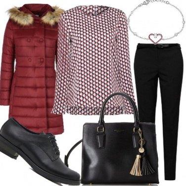 Outfit Caldo piumino