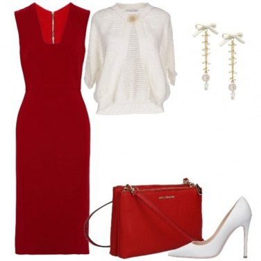 Outfit Rosso Natale