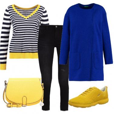 Outfit La nota blu