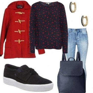 Outfit Cappuccetto rosso!