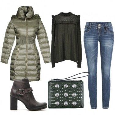 Outfit Piumino nuovo