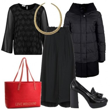 Outfit Rouge pour Noel