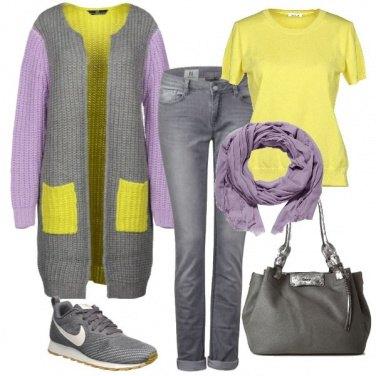 Outfit L\'inverno con colore