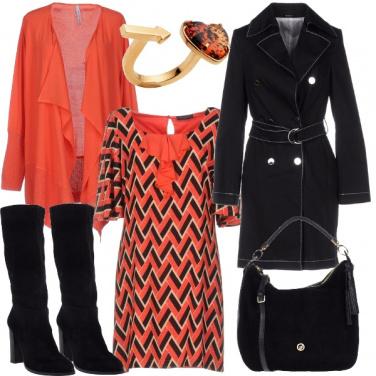 Outfit Arancione supervitaminico