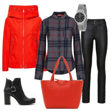 Outfit Rosso grintoso