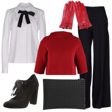Outfit Eleganza in pista