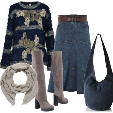 Outfit In jeans...perché no