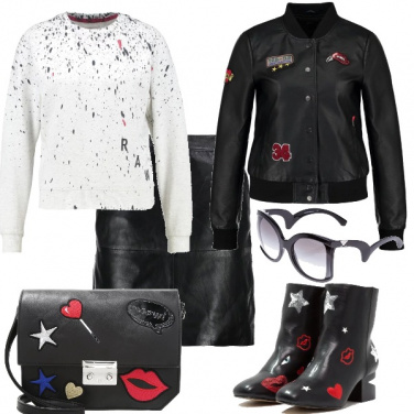 Outfit Rock & roll
