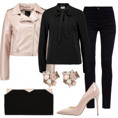 Outfit Eleganza bicolor