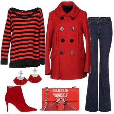 Outfit Zampa e rosso
