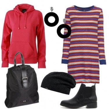Outfit Urban colorato