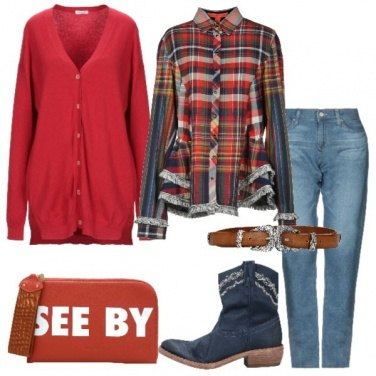 Outfit Aria country per il Natale