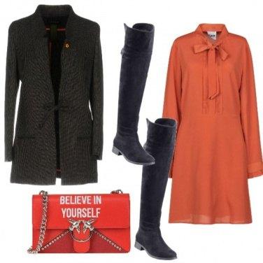 Outfit L\'abito con il fiocco