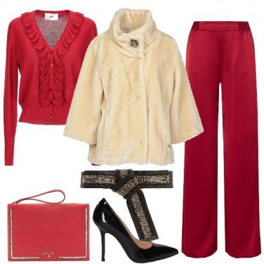 Outfit Rosso Babbo Natale