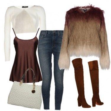 Outfit Ecopelliccia mon amour