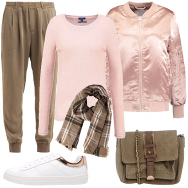 Outfit Uno stile sporty chic