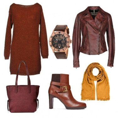 Outfit Caldo nei colori