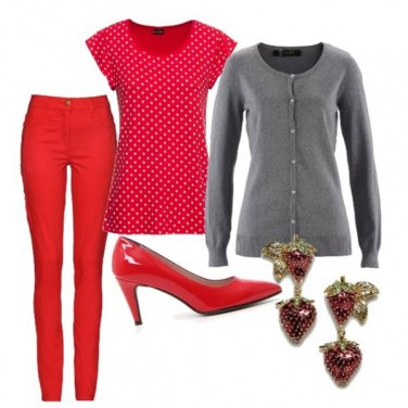 Outfit Fragola style