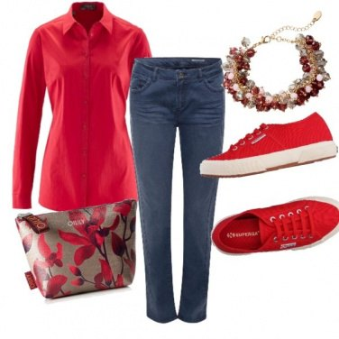 Outfit Rouge style