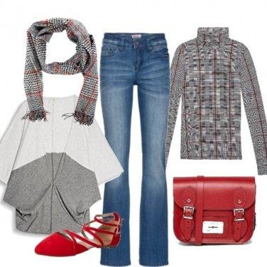 Outfit Con la cartella