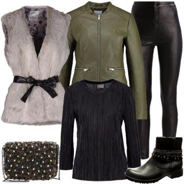 Outfit Oggi mi sento rock