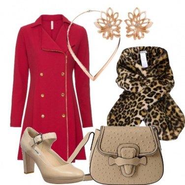 Outfit La sciarpa maculata