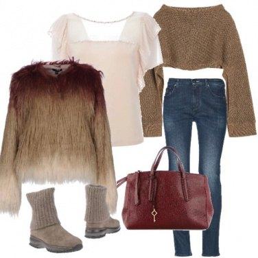 Outfit A strati sovrapposti