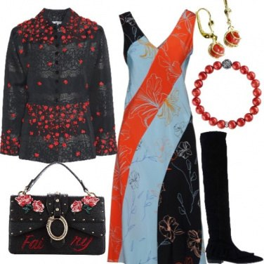 Outfit Perla Rossa