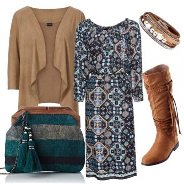 Outfit Brown stile