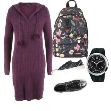 Outfit Flowers school