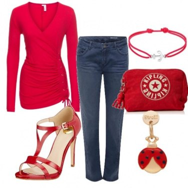 Outfit Rosso sexy....