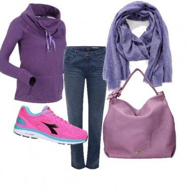 Outfit Sporty style, x fare la spesa