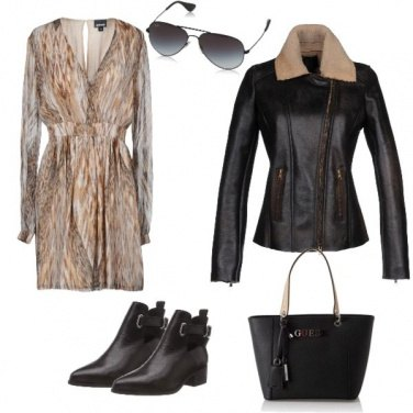 Outfit Chic and easy come una top model