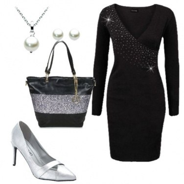 Outfit Elegante con poco
