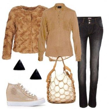 Outfit Le sneakers con la zeppa