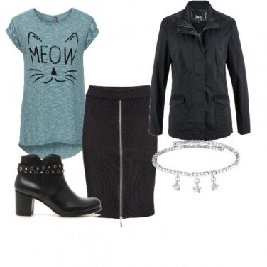 Outfit Meow, look cat woman