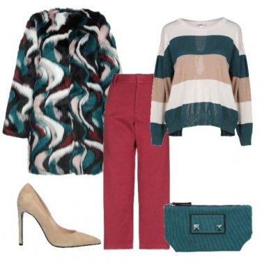 Outfit Un inverno colorato