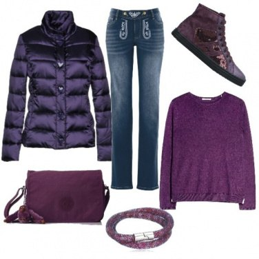 Outfit Bottoncino a cuore
