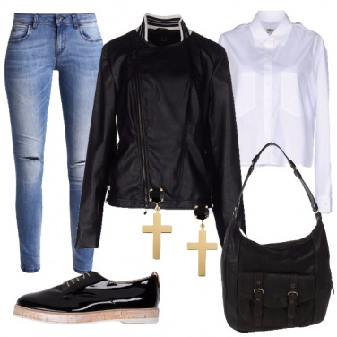 Outfit Stile chiodo