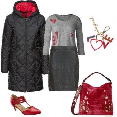 Outfit Romantica irriducibile
