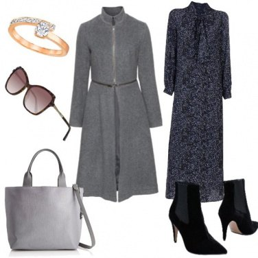 Outfit Basic, abito lungo