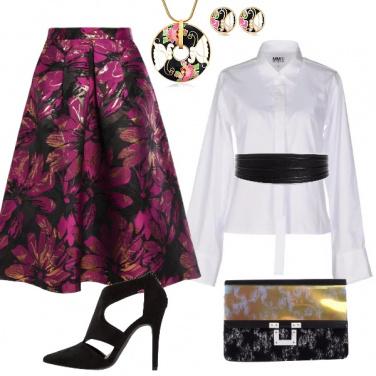 Outfit Fiori d\'oro