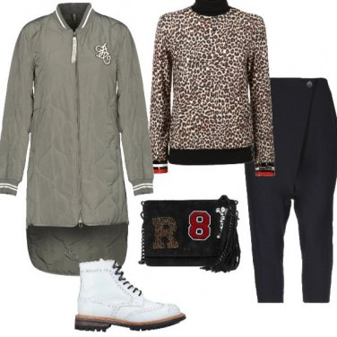 Outfit Anfibio white