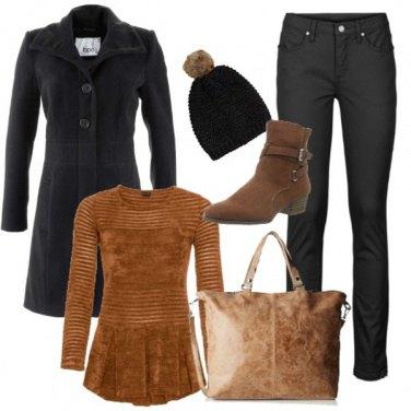 Outfit Pullover in ciniglia