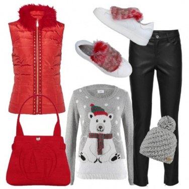 Outfit Il pullover per le feste