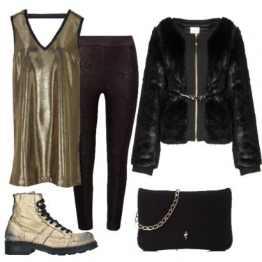 Outfit Young gold