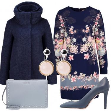 Outfit Raffinata in blu